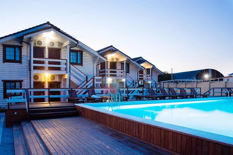 Вечер в отеле Del Mare, Анапа
