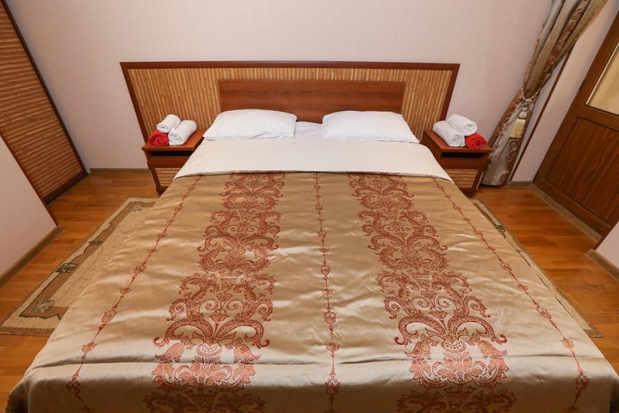 Обстановка в Малом Коттедже отеля Дельфин, Пицунда, Абхазия