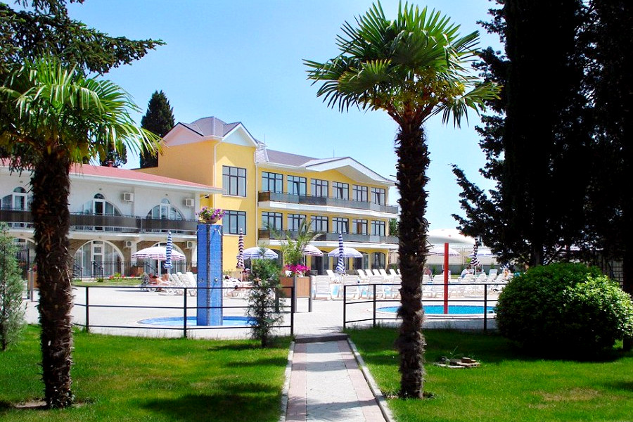 Парк-отель Демерджи, Алушта, Крым
