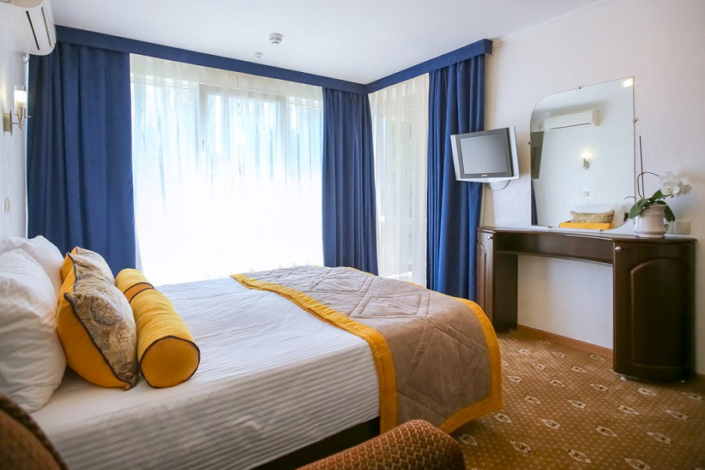 Стандарт Улучшенный двухместный парк-отеля Демерджи