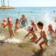 Пляж парк-отеля Демерджи