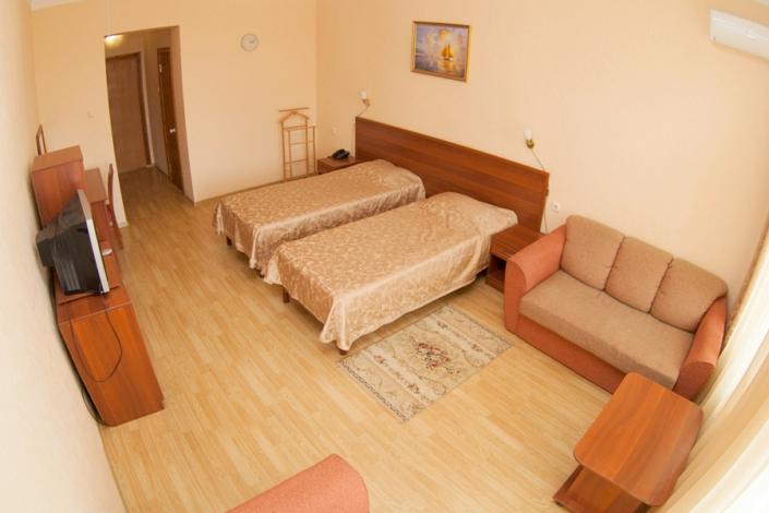 Стандарт двухместный 23-28 кв. м санатория ДиЛУЧ