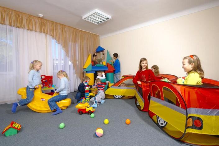 Детская комната санатория ДиЛУЧ