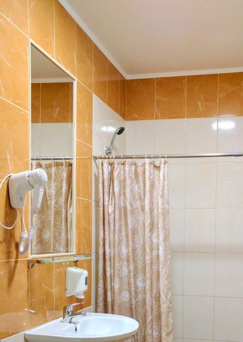Туалетная комната Стандартного номера в отеле Дивный