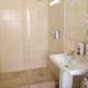 Туалетная комната номера Престиж в пансионате Днепр