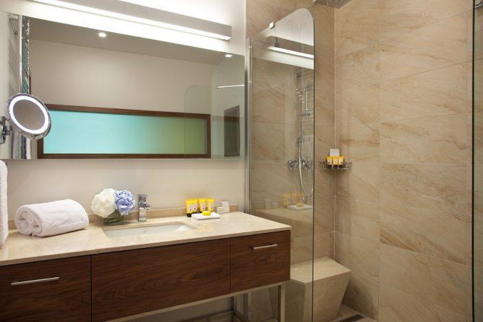 Туалетная комната номера Премиум отеля Долина 960