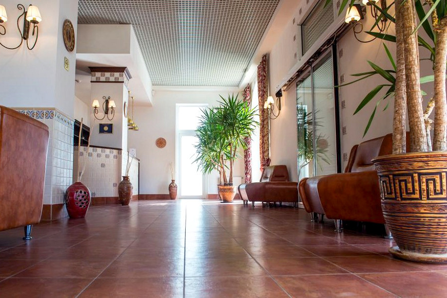 Холл отеля Донна Роза