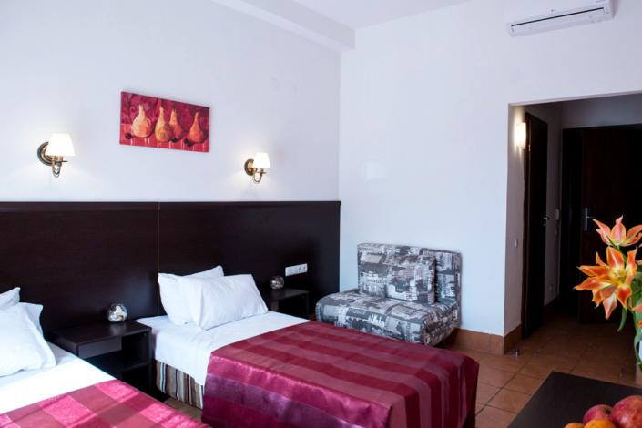 Комфорт Улучшенный двухместный с раздельными кроватями отеля Донна Роза