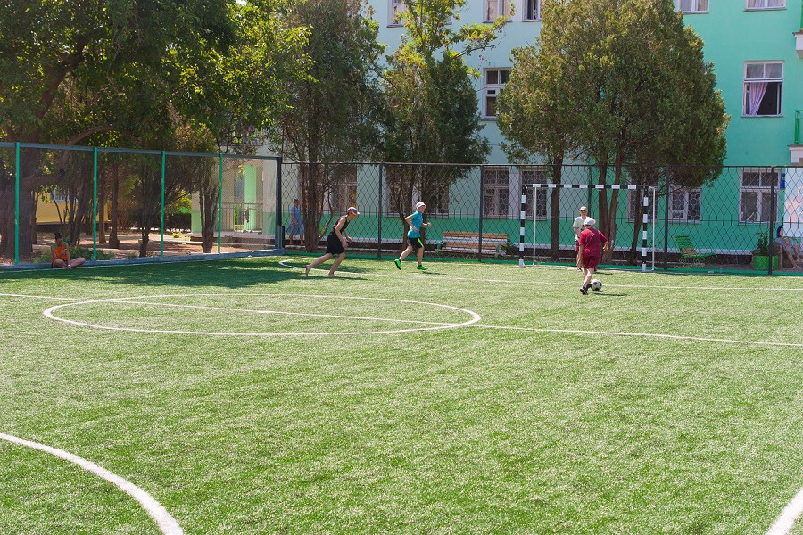Спортивная площадка санатория Дружба