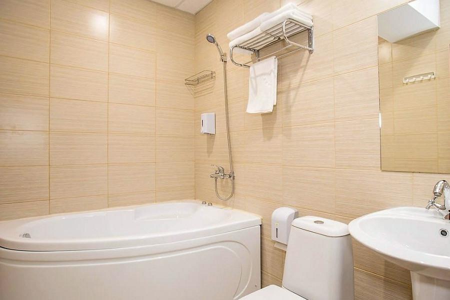Туалетная комната Делюкс с лоджией в пансионате Dublin & Dolphin