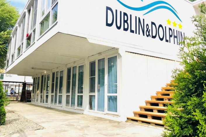 Норвежский домик пансионата Dublin & Dolphin
