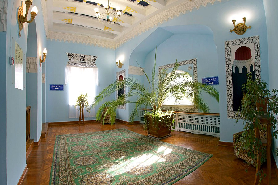 Холл Корпуса 1 санатория Дюльбер