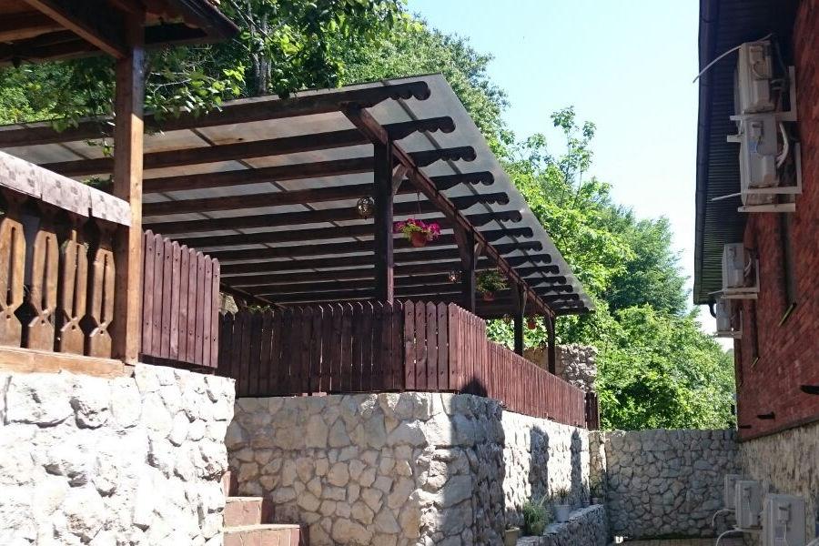 Территория отеля ДжаНат, Сухум, Абхазия