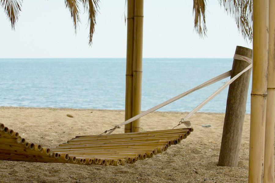 Синопский пляж Сухума, Абхазия