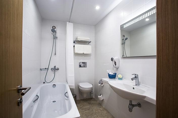 Туалетная комната номера Студия пансионата Джемете