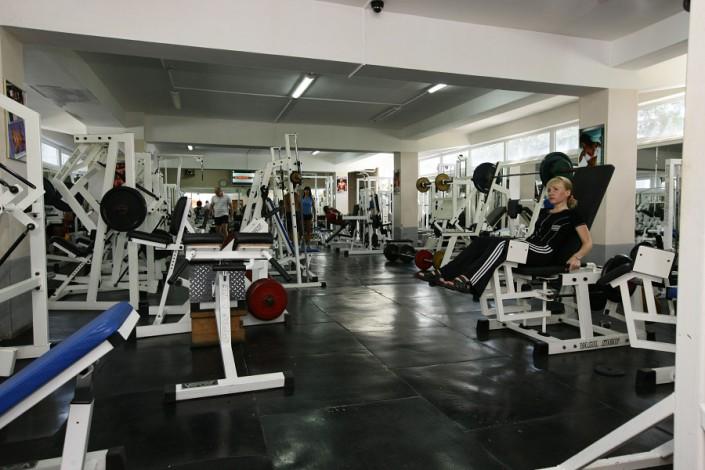 Тренажерный зал пансионата Эдем