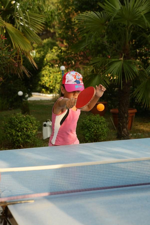Стол для настольного тенниса в пансионате Эдем