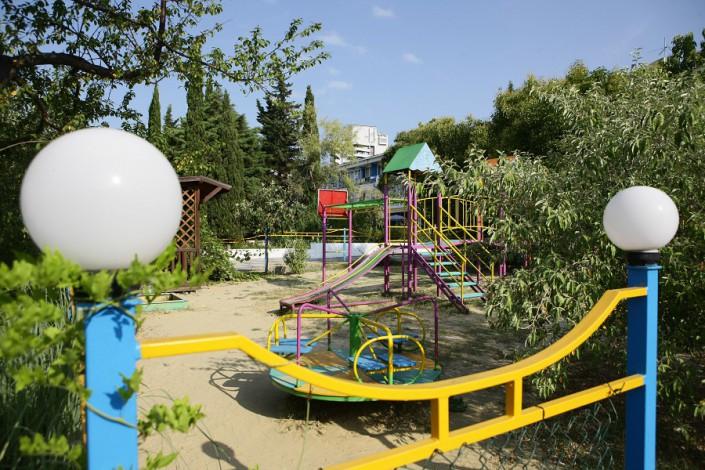 Детская игровая площадка пансионата Эдем