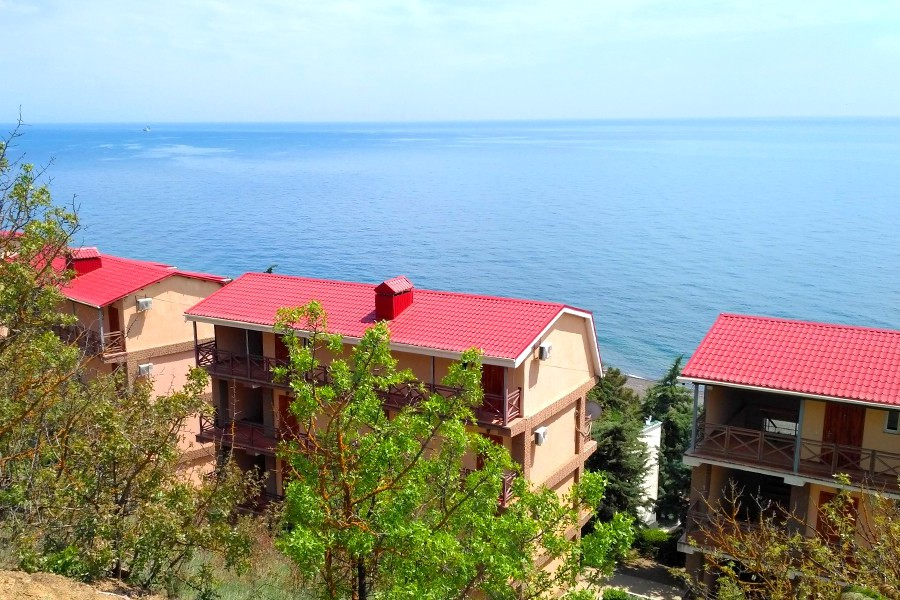 Курортный комплекс Эко-Village, Канака, Приветное, Алушта, Крым