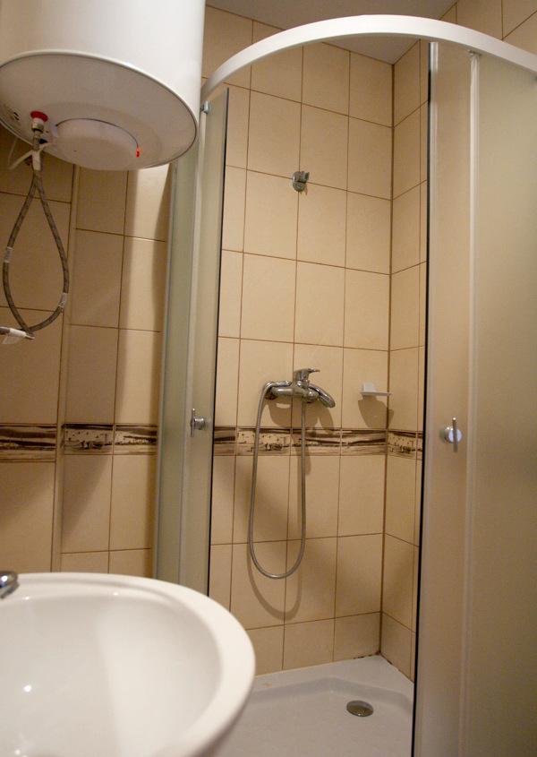 Туалетная комната Стандартного номера курортного комплекса Эко-Village