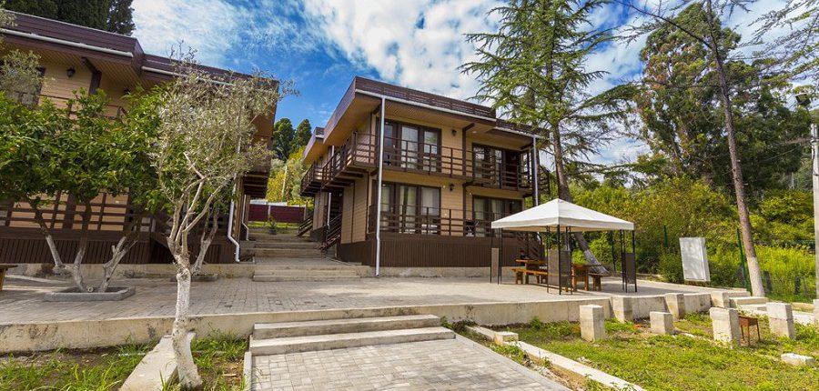 Коттеджи Эко-Вилладж, Новый Афон, Абхазия