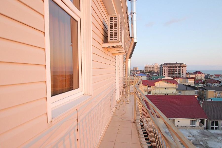 Балкон номера Стандарт 3* отеля Экодом Адлер
