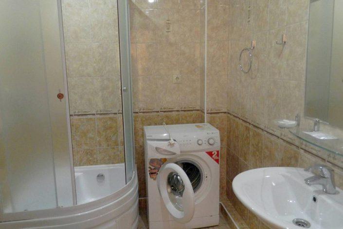 Туалетная комната номера Студия 3* отеля Экодом Адлер