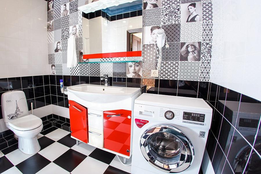 Туалетная комната номера Апартаменты 3* отеля Экодом Адлер