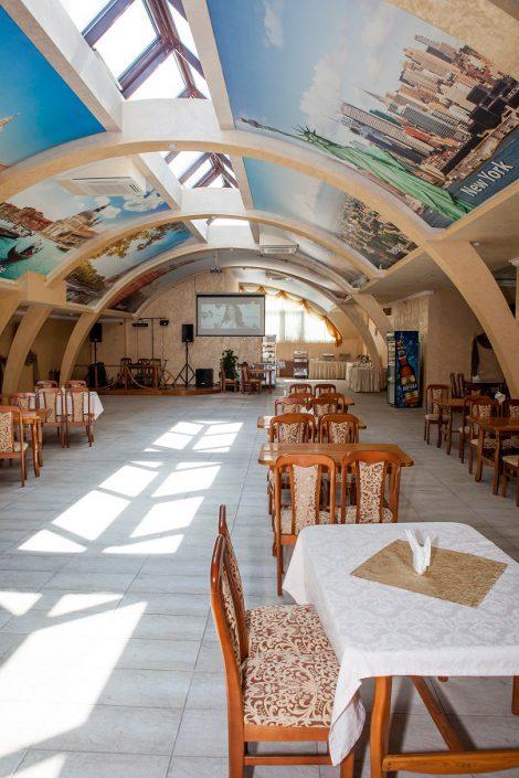 Кафе отеля Экодом Адлер
