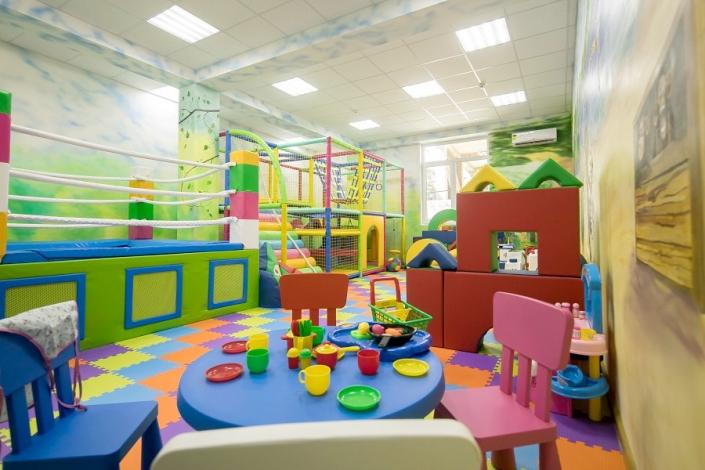 Детская игровая комната отеля Экодом Адлер, Сочи