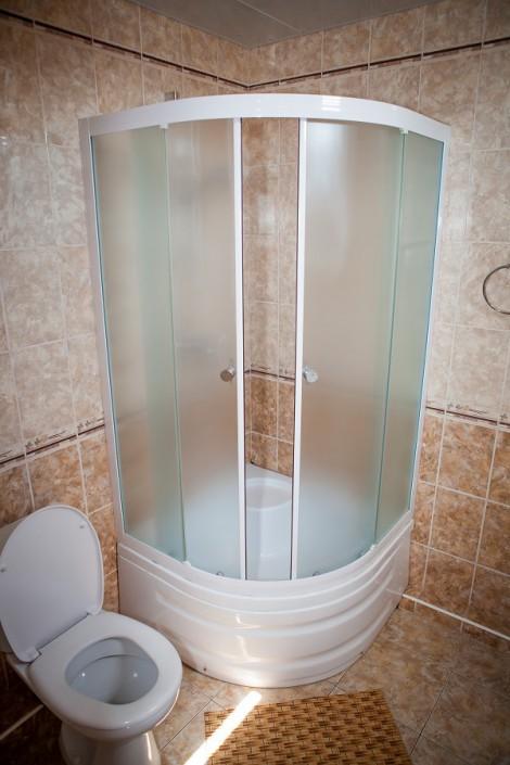 Туалетная комната в номере Студия отеля Экодом Сочи