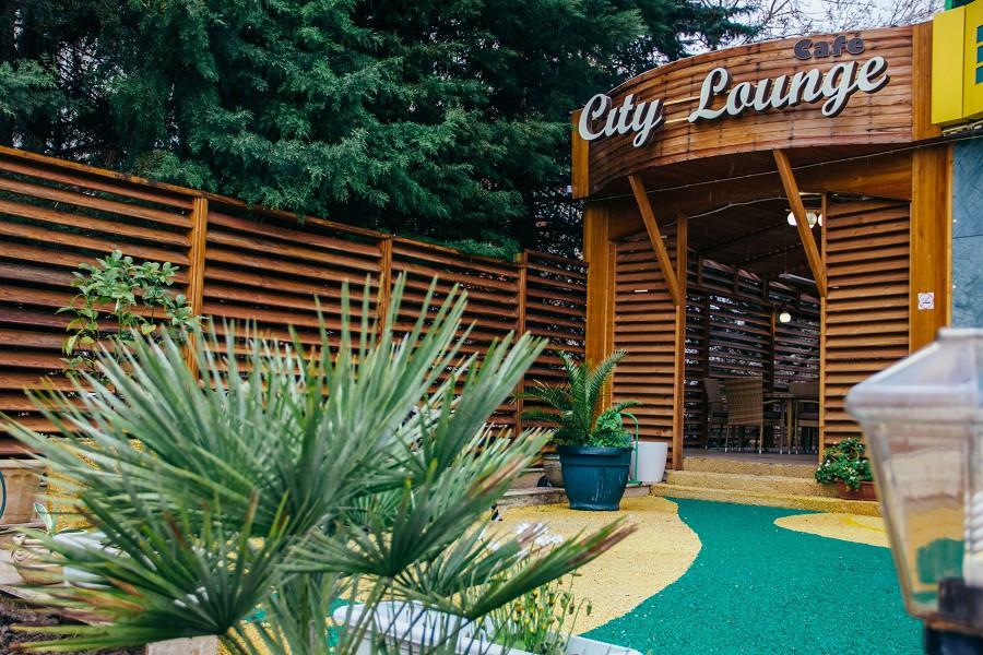 Кафе City Lounge в отеле Экодом Сочи