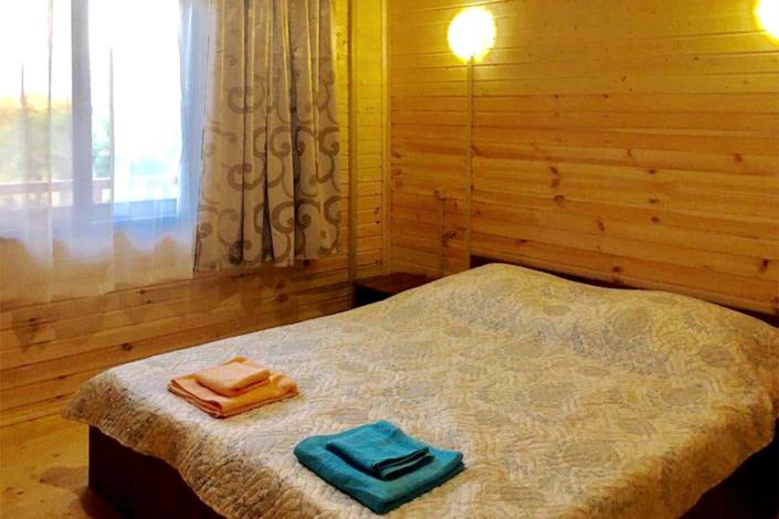 Стандарт двухместный отеля ЭкоХаус