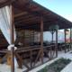 Летняя веранда на территории отеля ЭкоХаус