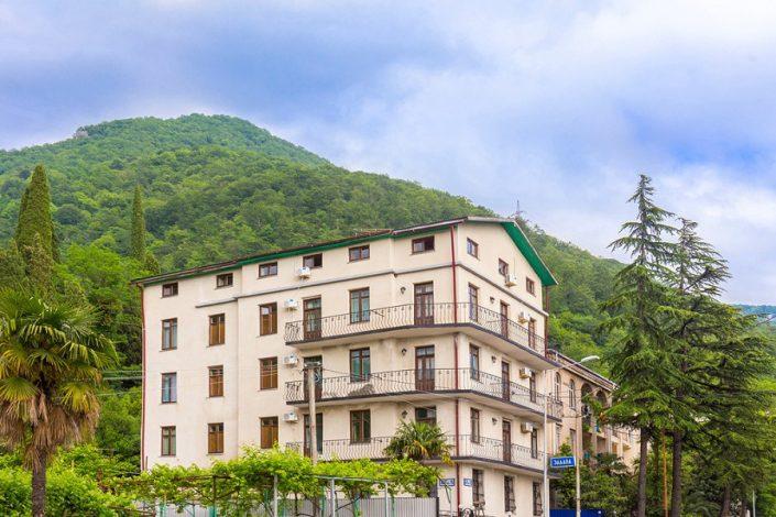 Гостиница Эллада, Гагра, Абхазия
