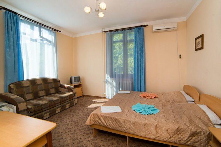 Стандартный двухместный номер гостиницы Эллада