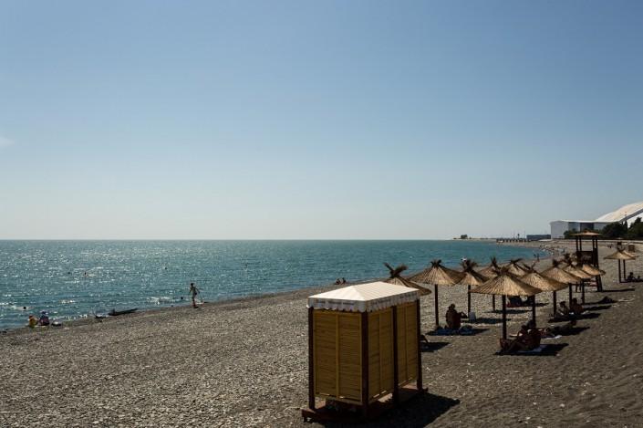 Пляж в 50 м от гостевого дома Эв Рошель