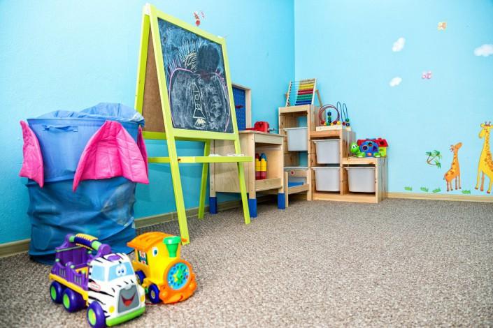 Детская игровая комната гостевого дома Эв Рошель