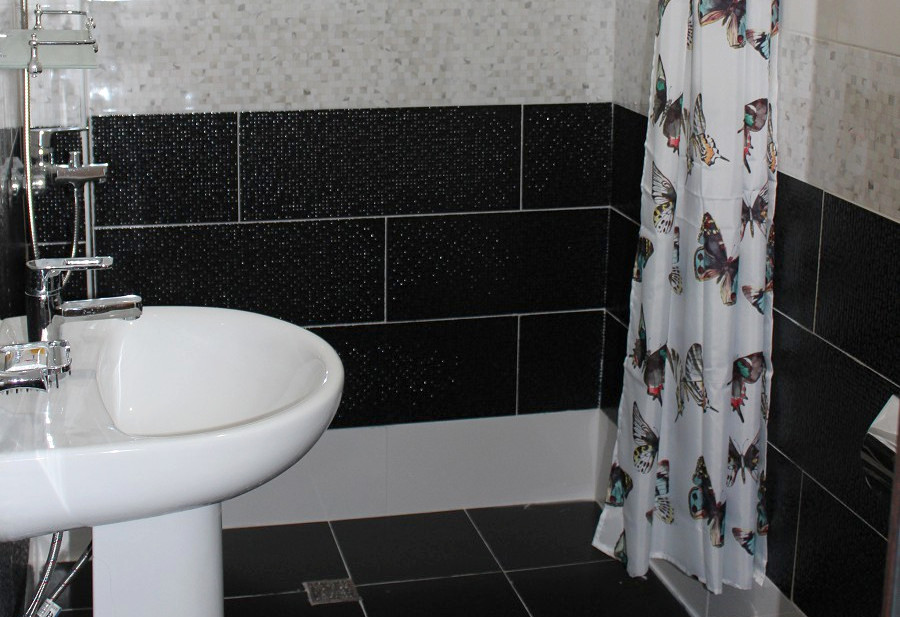 Туалетная комната номера Люкс в Новом корпусе пансионата Эвкалиптовая роща, Кындыг, Очамчыра, Абхазия
