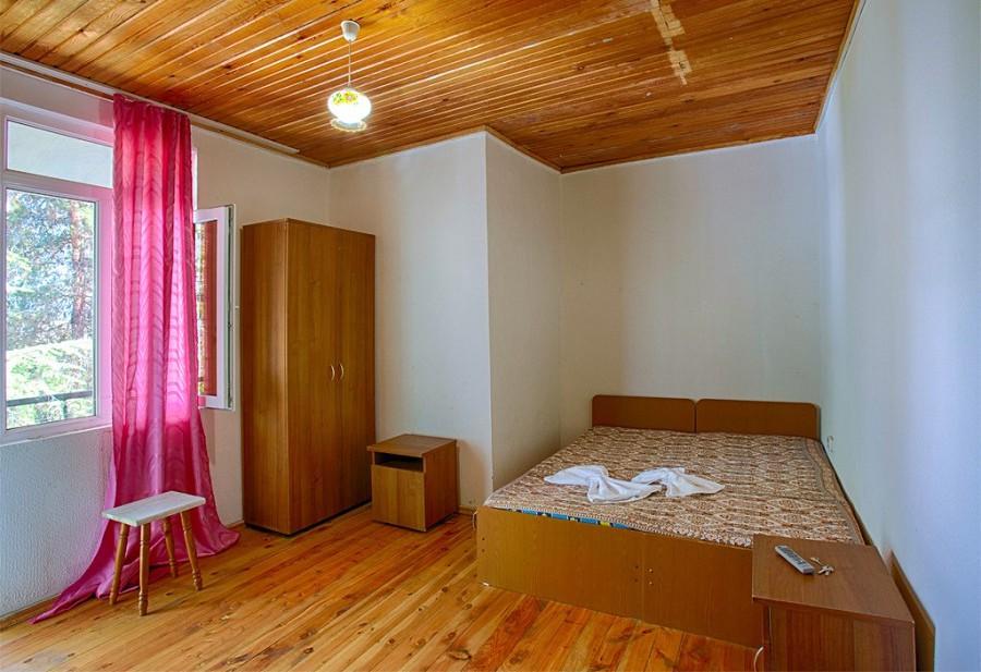 Стандартный двухместный номер пансионата Эвкалиптовая роща, Кындыг, Абхазия