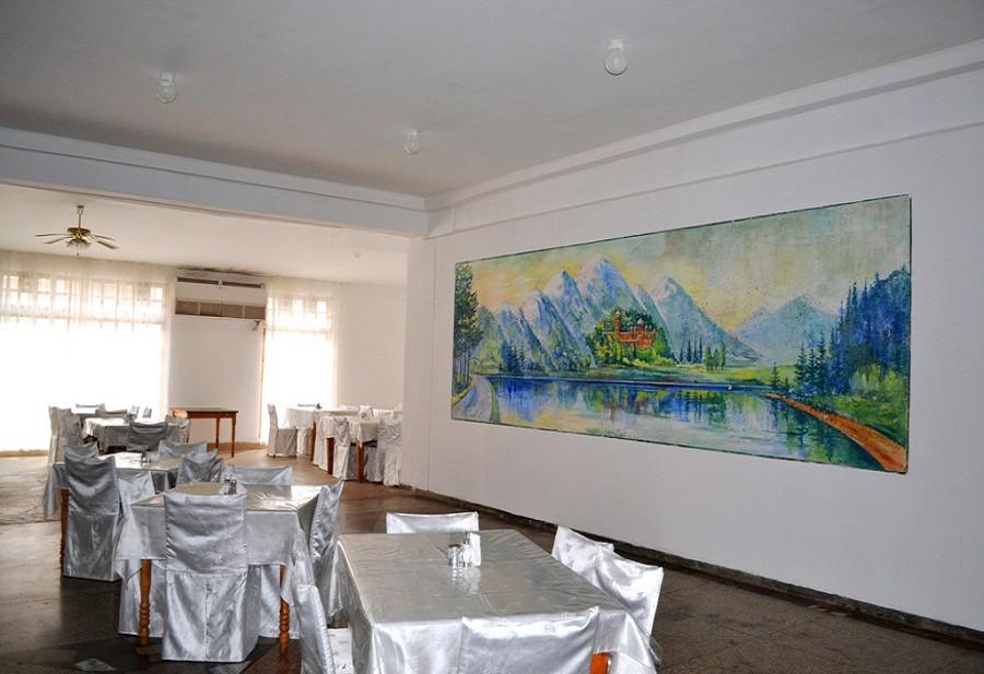 Столовая пансионата Эвкалиптовая роща, Кындыг, Абхазия