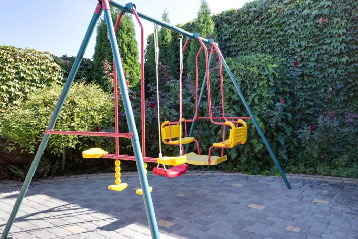 Детская площадка на территории отеля Евпатерион