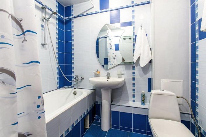 Туалетная комната двухкомнатного номера ТОК Евпатория