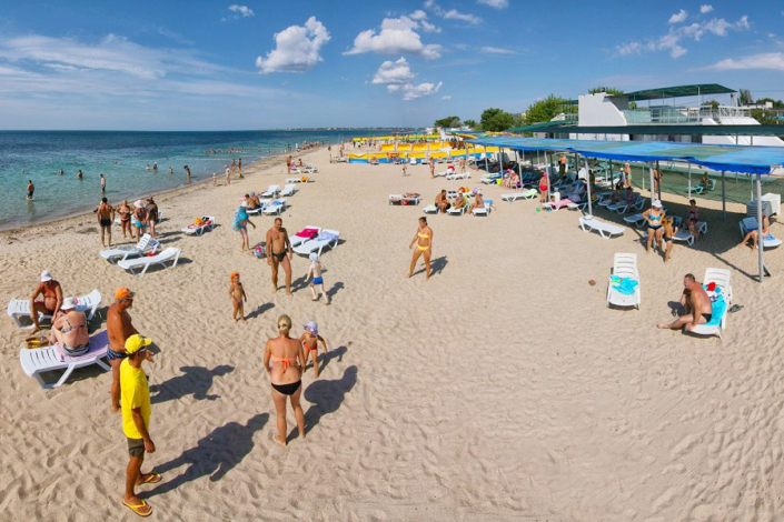 Пляж ТОК Евпатория