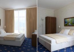 Стандарт двухместный отеля Европа, Гагра, Абхазия