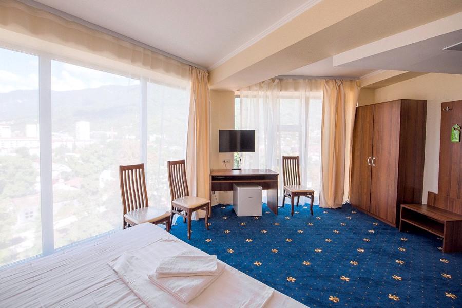 Комфорт двухместный отеля Европа, Гагра, Абхазия