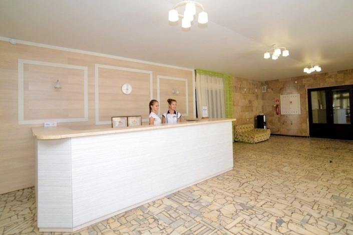 Холл отеля Family Resort