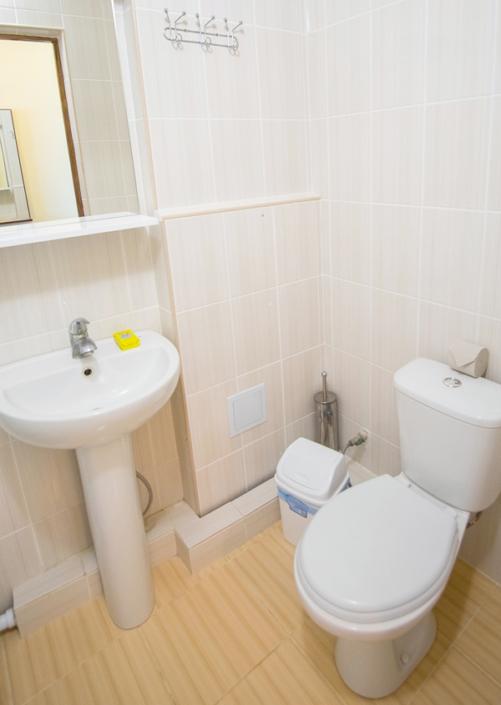 Туалетная комната Стандартного номера в отеле Family Resort
