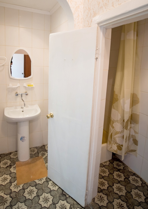 Туалетная комната номера Полулюкс в отеле Family Resort