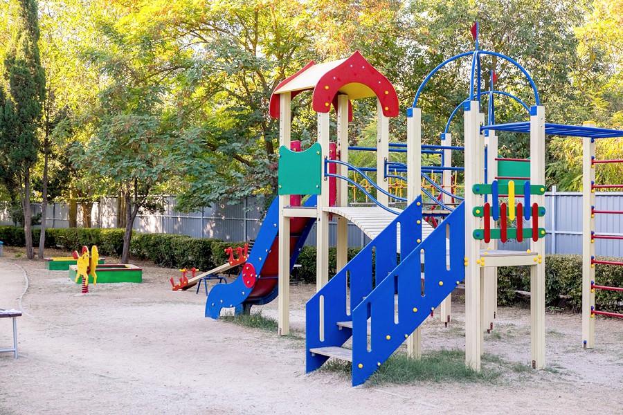Детская площадка отеля Family Resort